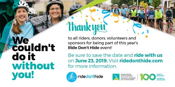 2018 Ride Don't Hide