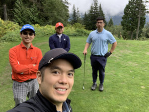 Jim Pan golf tournament