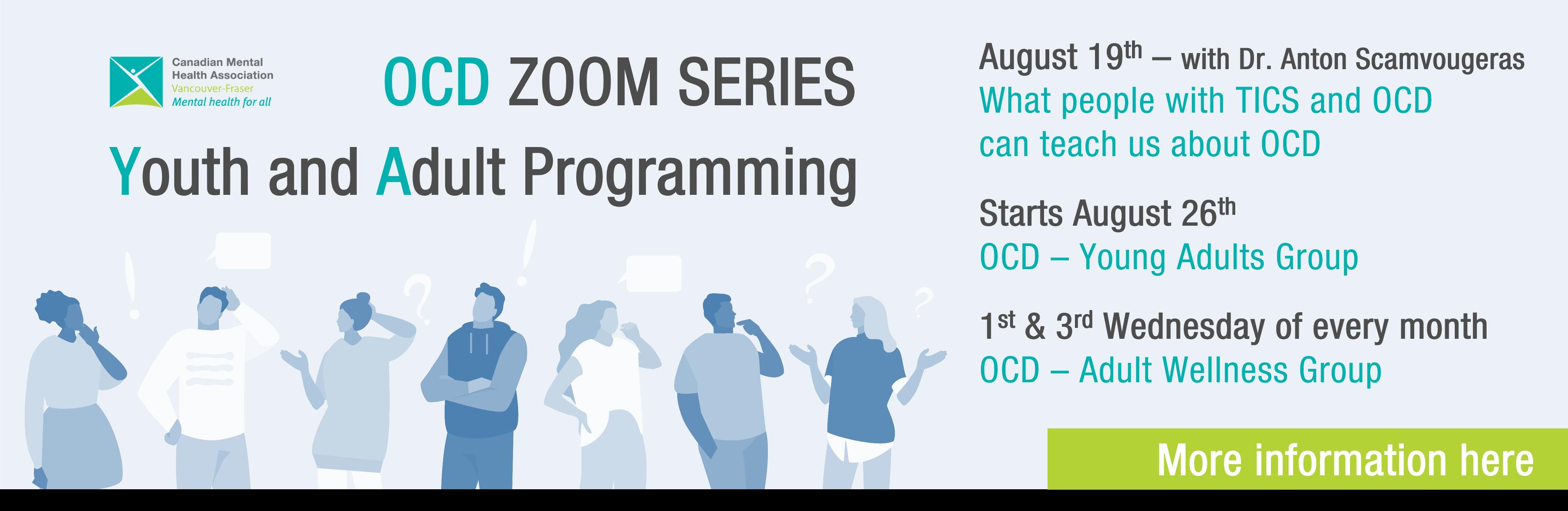 OCD Zoom Series